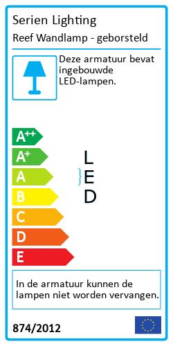 Reef WandlampEnergy Label