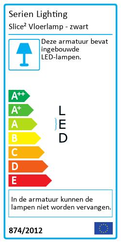 Slice² VloerlampEnergielabel